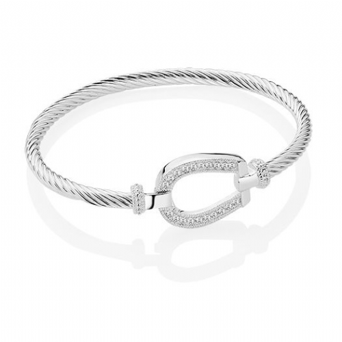 Newbridge Silverware Horseshoe Bangle